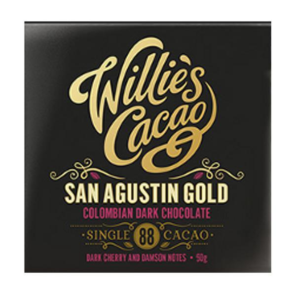 San Agustin Gold Dark Chocolate Bar 88 Vegan