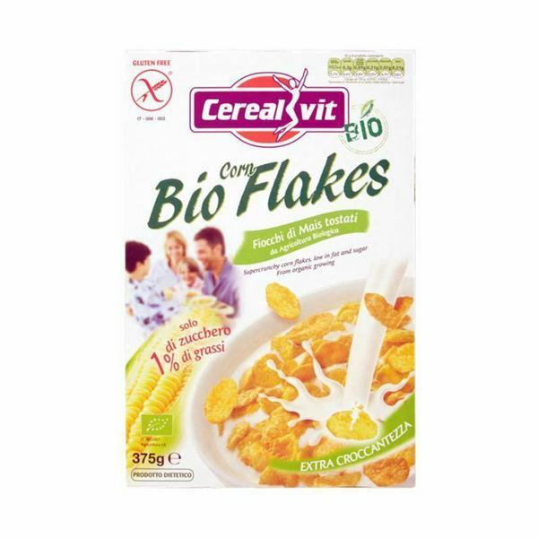 Bio Cornflakes Cereal Gluten Free, ORGANIC