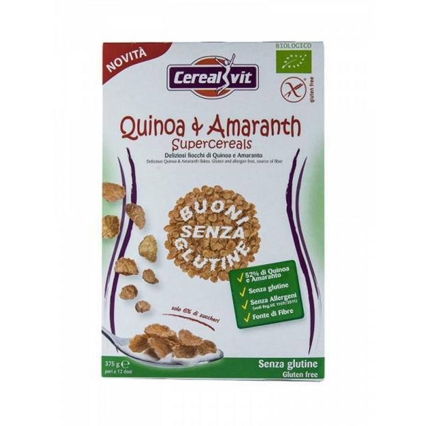 Amaranth & Quinoa Superflakes Cereal Gluten Free, ORGANIC