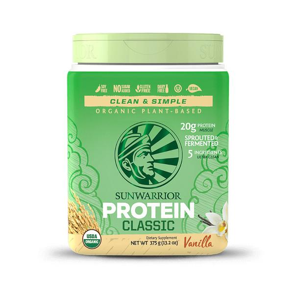 Classic Vanilla Protein Powder Gluten Free, Vegan