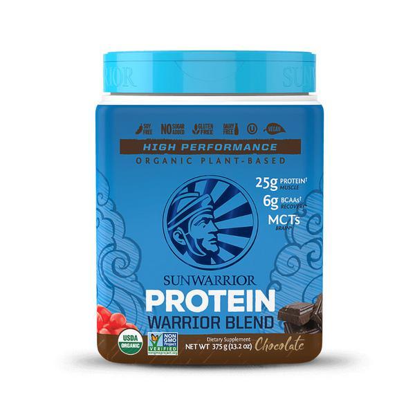Warrior Blend Chocolate Protein Powder Gluten Free, Vegan