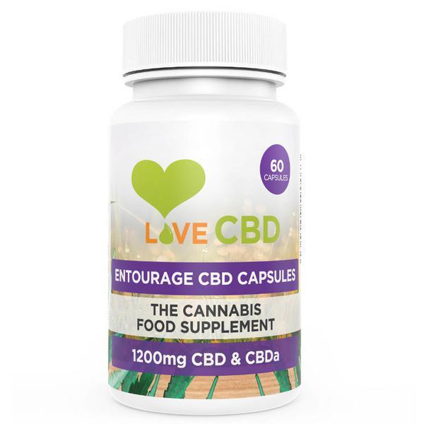 Entourage CBD Supplement Vegan
