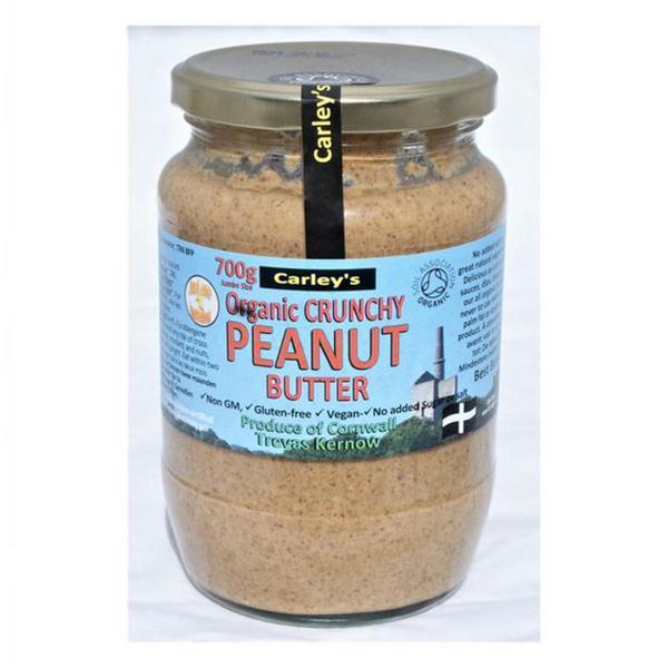 Organic Crunchy Peanut Butter no added salt, no sugar added