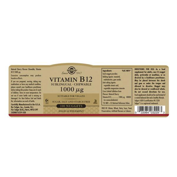 Vitamin B12 1000ug Vegan image 2