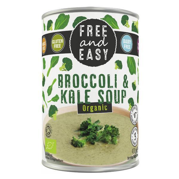 Broccoli & Kale Soup Vegan, wheat free, ORGANIC