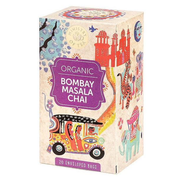 Bombay Masala Chai Gluten Free, Vegan, ORGANIC