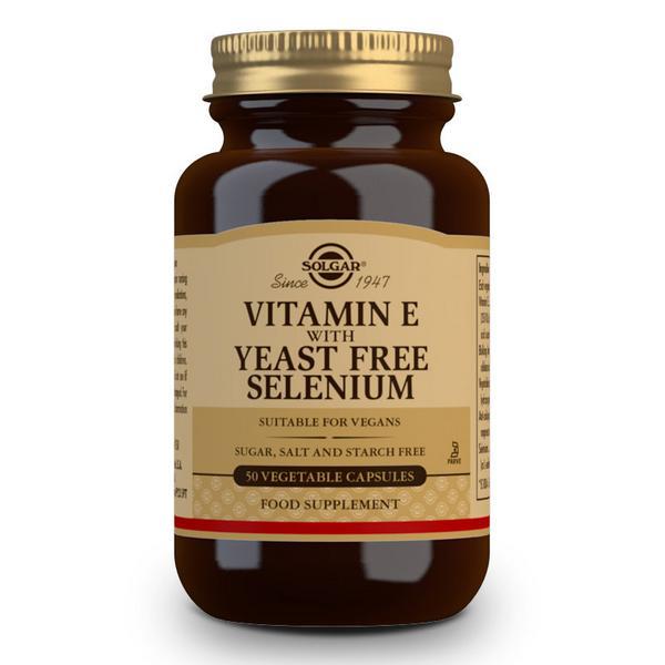 Vitamin E Selenium Vegan, yeast free