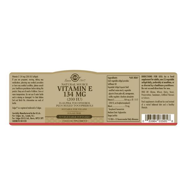 Mixed Vitamin E 200iu 134mg  image 2