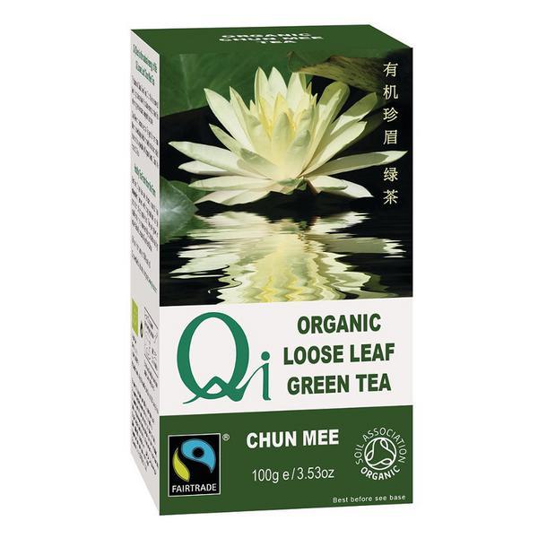 Loose Leaf Green Tea FairTrade, ORGANIC