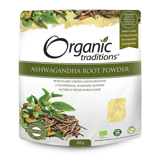Ashwagandha Powder dairy free, Gluten Free, Vegan, wheat free, ORGANIC