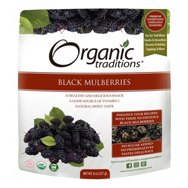 Black Mulberries ORGANIC