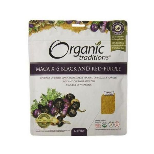 Maca X-6 Powder Gluten Free, Vegan, wheat free, ORGANIC
