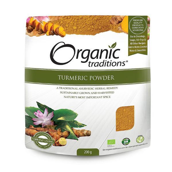 Turmeric Powder Gluten Free, Vegan, wheat free, ORGANIC