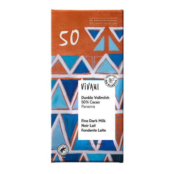 50% Panama Cocoa Dark Chocolate ORGANIC