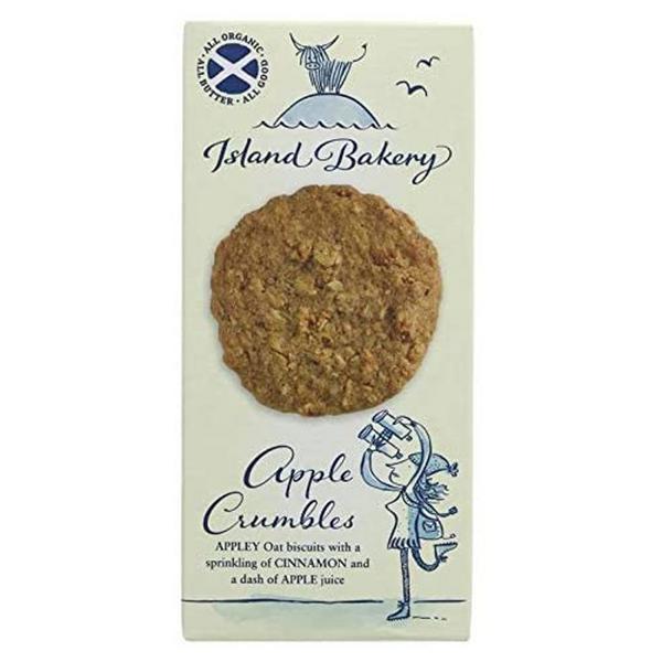 Apple Crumble Biscuits