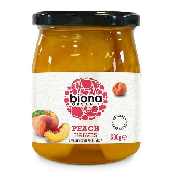 Peaches Halves ORGANIC