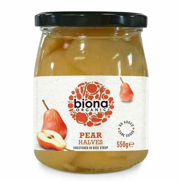 Pears Halves ORGANIC