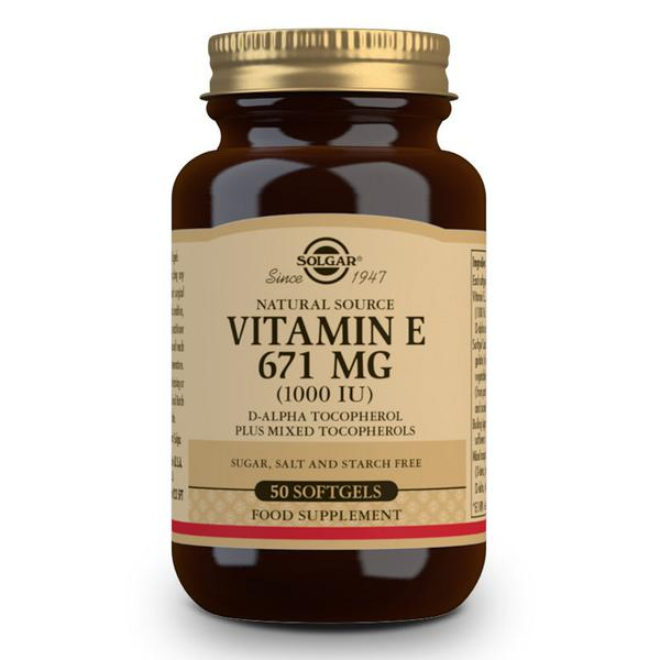 Vitamin E 1000iu 671mg