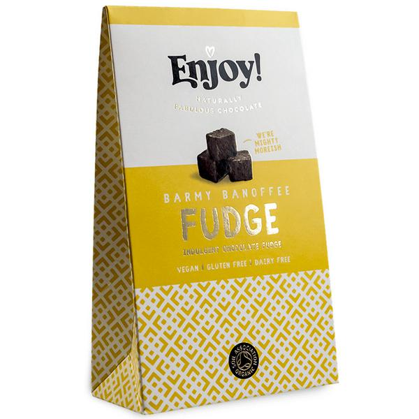 Banoffee Chocolate Fudge Gluten Free, Vegan, ORGANIC