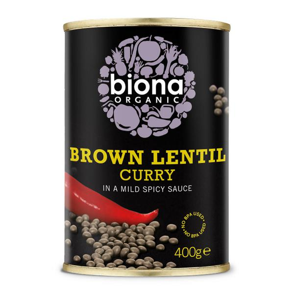 Brown Lentil Curry ORGANIC