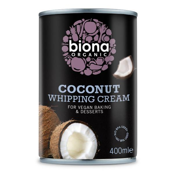 Coconut Whipping Cream Gluten Free, Vegan, wheat free, ORGANIC