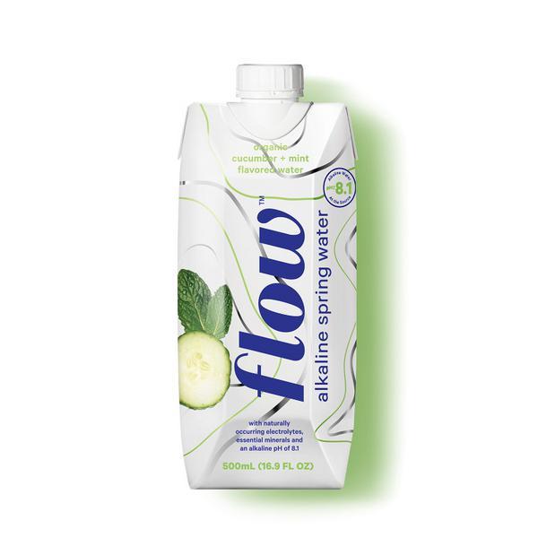 Cucumber & Mint Alkaline Spring Water
