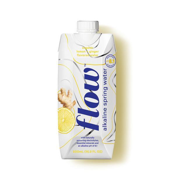 Lemon & Ginger Alkaline Spring Water