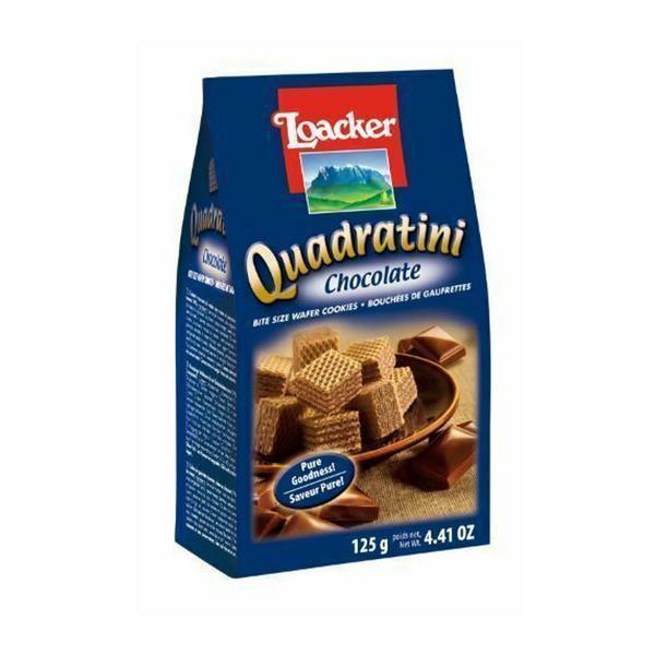 Chocolate Quadratini Wafer Biscuits