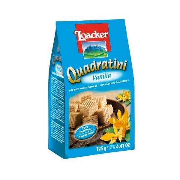 Vanilla Quadratini Wafer Biscuits