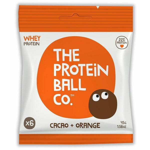 Cacao & Orange Protein Balls Gluten Free, no added sugar, wheat free
