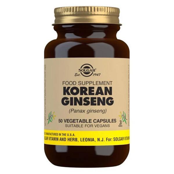 Korean Ginseng Full Potency Herbal Product Vegan