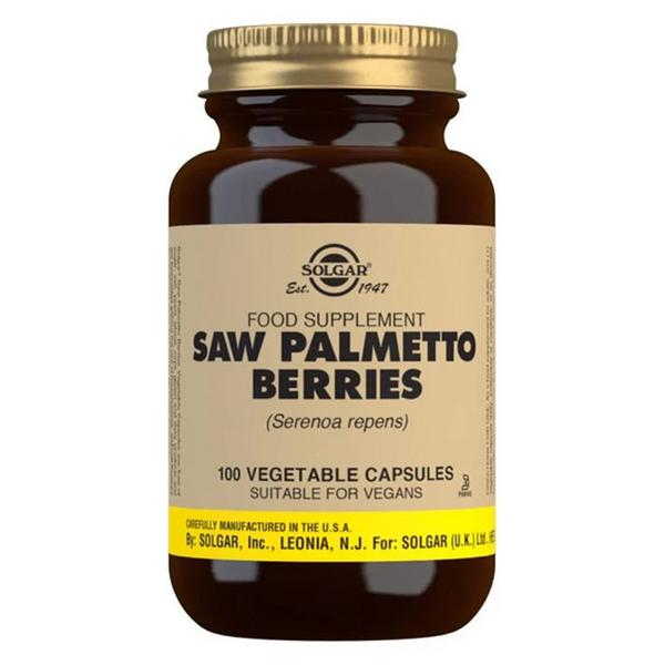 Saw Palmetto Full Potency Herbal Product In 100vegcaps