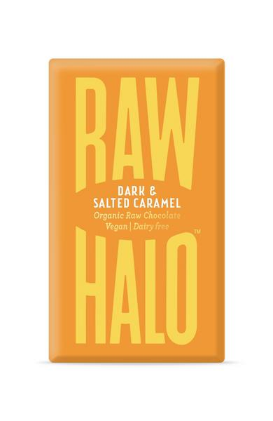 Dark Salted Caramel 76% Raw Chocolate Vegan, ORGANIC