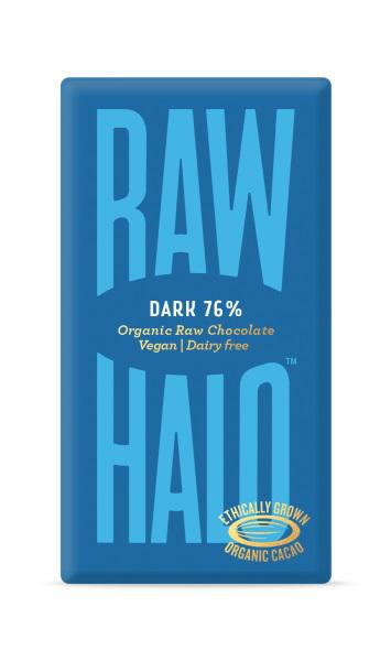 Dark 76% Raw Chocolate Vegan, ORGANIC