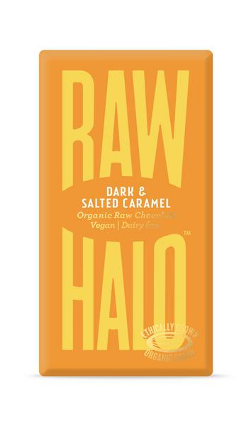 Dark Salted Caramel Raw Chocolate Vegan, ORGANIC