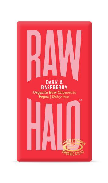 Dark Raspberry Raw Chocolate Vegan, ORGANIC