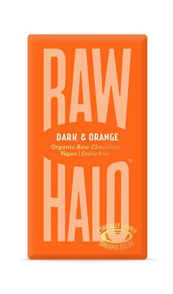 Dark Orange Raw Chocolate Vegan, ORGANIC