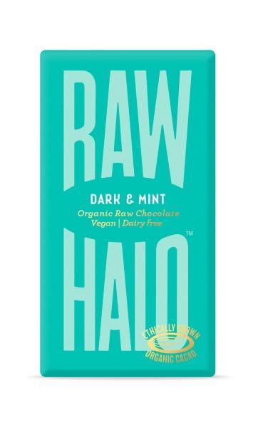 Dark Mint 76% Raw Chocolate Vegan, ORGANIC