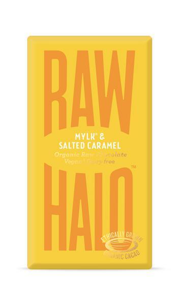 Mylk & Salted Caramel Raw Chocolate Vegan, ORGANIC