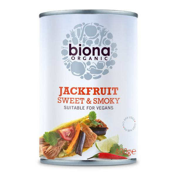 Sweet & Smoky Jackfruit Vegan, ORGANIC