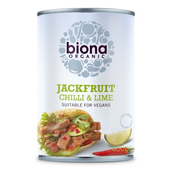 Chilli & Lime Jackfruit dairy free, Vegan, ORGANIC