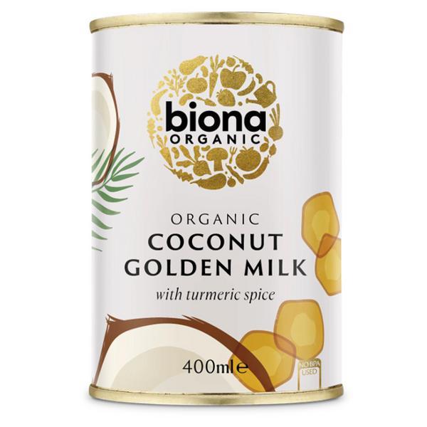 Golden Turmeric Coconut Milk dairy free, Vegan, ORGANIC