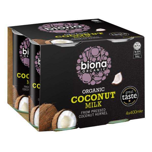 Coconut Milk 4 pack Vegan, ORGANIC