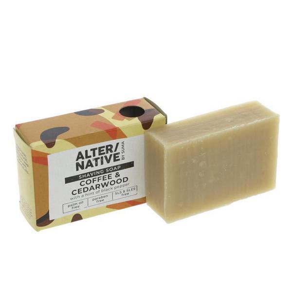 Cedarwood Shaving Soap Vegan image 2