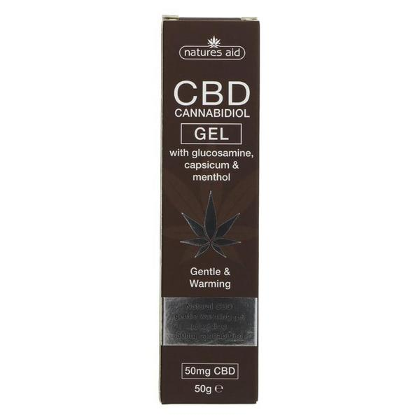 CBD Cannabidiol Gel Vegan