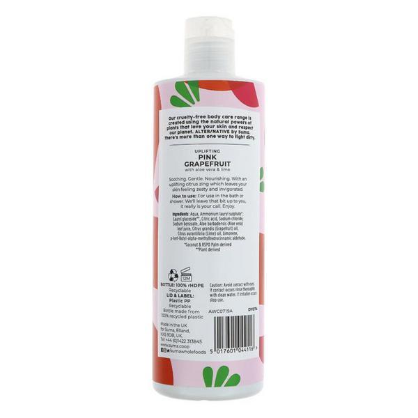 Pink Grapefruit & Aloe Body Wash Vegan image 2