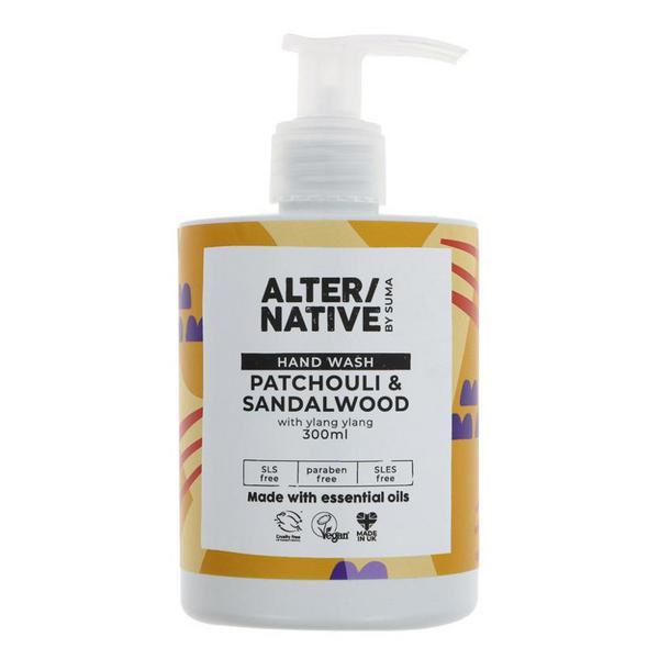 Patchouli & Sandalwood Hand Wash Vegan