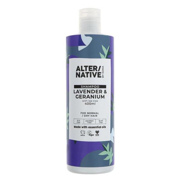 Lavender & Geranium Shampoo Vegan