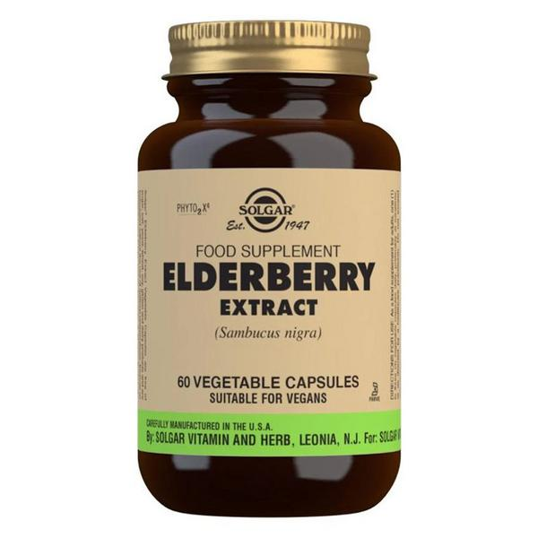 Elderberry Standardised Full Potency Extract Herbal Product