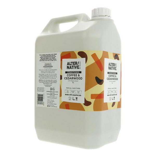 Coffee & Cedarwood Conditioner Vegan image 2